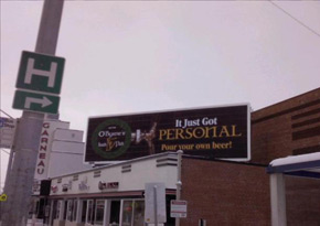 PourMyBeer billboard!